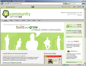 Open Source Projects - Community Server, DotNetNuke, integration