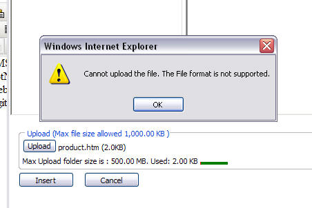 class asp how to allow file upload a folder permission