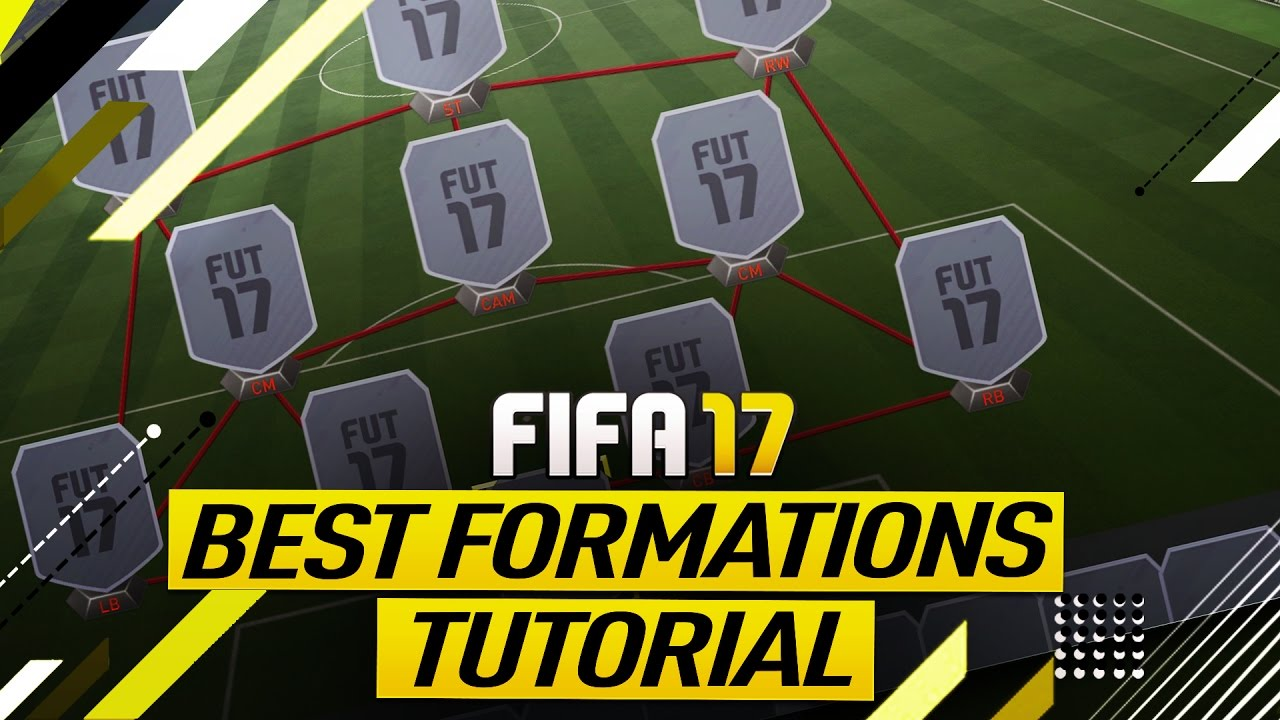 The Best FIFA 17 Formation to Use in FIFA 17 Ultimate Team